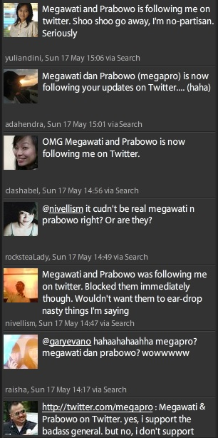 Megapro twits