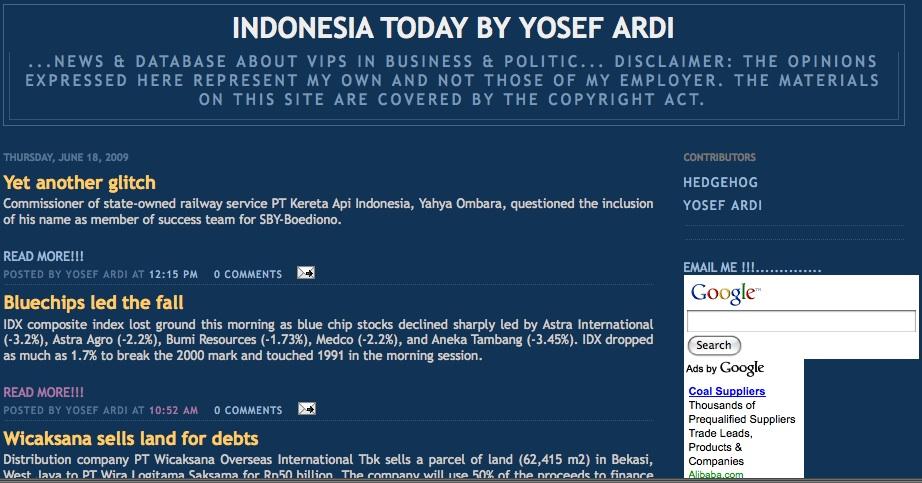 Indonesia Today